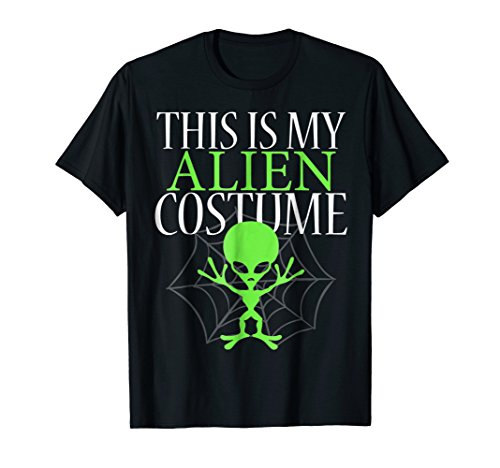 This Is My Alien Costume (Sci Fi Halloween Costumes Ideas)