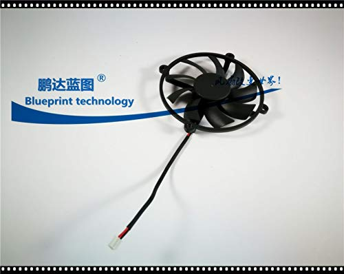 REFIT New Large air Volume 10510515MM 10515 10.5CM//cm 12V Graphics Card Cooling Fan