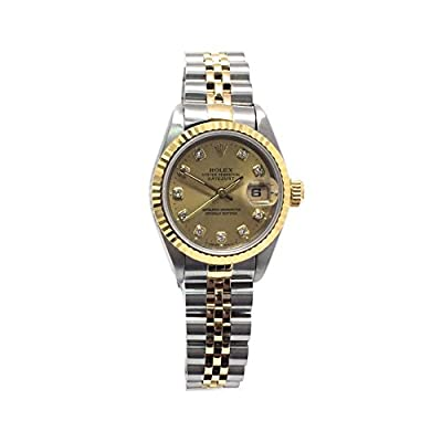 Rolex Datejust Swiss-Automatic Womens Watch 69173 (Certified Pre-Owned) by Rolex