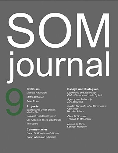 Read Online SOM Journal 9 PDF ePub fb2 book