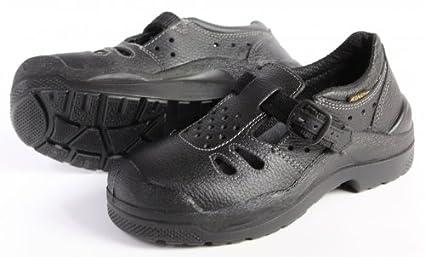 KINGS 96508 Zapatos de seguridad trabajo calzado sandalia mujer nutria talla 35, schuhgrößen (neu
