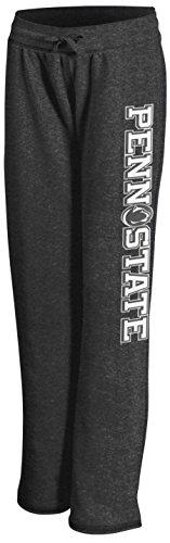 Penn State Women's Charcoal Sweatpants Down The Leg - S - charcoal heather gray