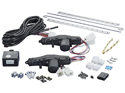 amazon com spal 37000148 2 door power lock kit automotive rh amazon com