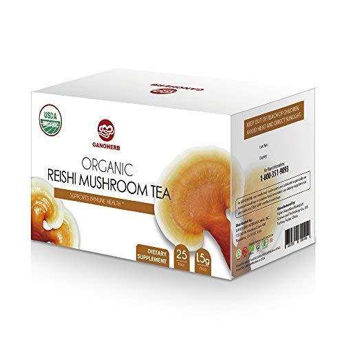 USDA Ganoderma Lucidum Lingzhi Reishi Tea With 100% Organic