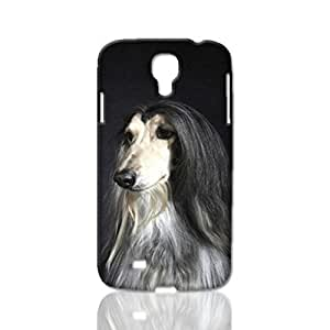 Afghan Hound Pattern Image - Protective 3d Rough Case Cover - Hard Plastic 3D Case - For Samsung Galaxy S4 i9500