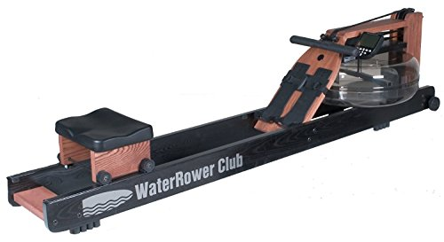 Ironcompany.com WaterRower 150-S4 Club Rowing Machine in Stained Ash Wood - Water Rower - Water Rowing Ergometer