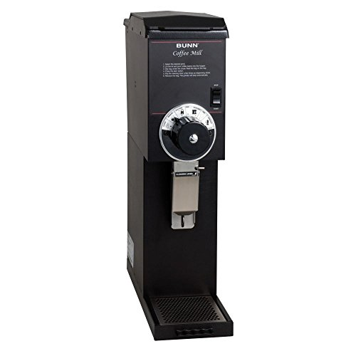 Bunn 22100.0000 G3 HD 3 lb Black Bulk Coffee Grinder