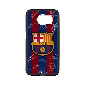 WXSTAR Fashion FC Barcelona Custom Case for SamSung Galaxy S6(Laser Technology) by mcsharks