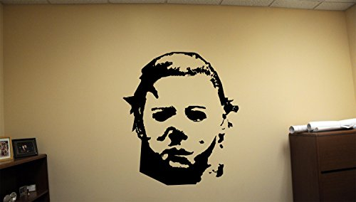 Advanced store Michael Myers Dead Horror Vinyl Wall Decals Halloween Decor Stickers Vinyl Mural MK3390