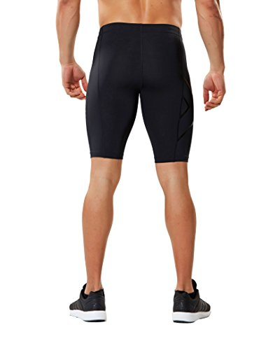 2XU Men's Core Compression Shorts, Black/Nero, Medium by 2XU (Image #2)