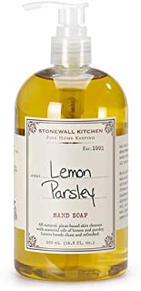 product image for Stonewall Kitchen Lemon Parsley Hand Soap, 16.9 Ounce
