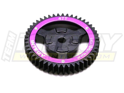 Integy RC Model Hop-ups T6903 Steel Spur Gear for HPI Savage-X, 21 & 25 47T
