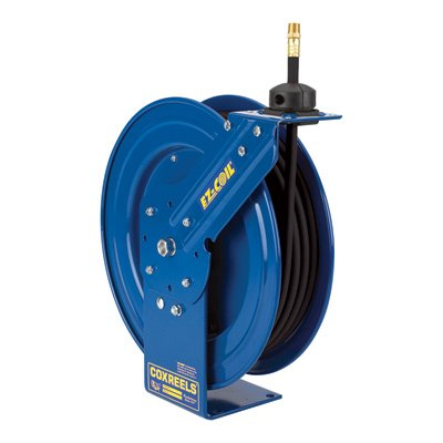 Coxreels Heavy-Duty Medium & High-Pressure Safety Hose Reel - 4000 PSI, 3/8in... by Coxreels