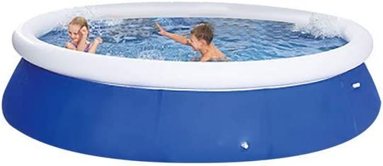 Newmao 【Free Expedited】 13ft x 36in Large Whole Family Swimming Pools,Full-Sized Quick Set Inflatable Pool with Filter Pump,for Outdoor Backyard Garden Summer Water Party 360cm/×76cm