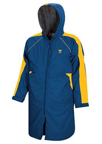 TYR 470WASP2YS Youth Alliance Parka, Gold/Royal, Small by TYR