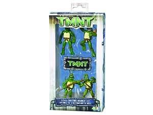 TEENAGE MUTANT NINJA TURTLES 5-PACK MINIATURE ORNAMENT S. - Christmas Ornament