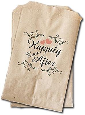 Amazon.com: Boda Candy Bolsas de bolsas – Bolsas de Favor de ...