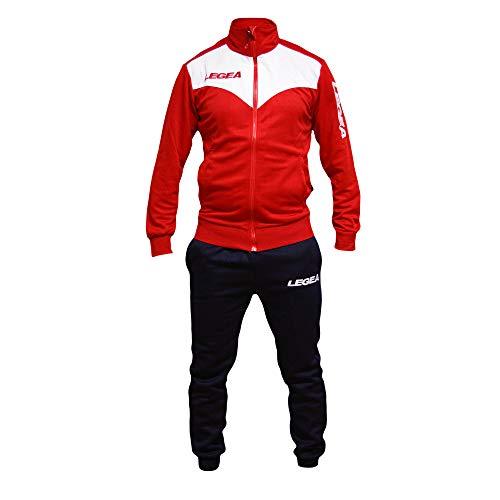 Allenamento Fitness Uomo E Tuta Rosso Sport Tg M1140 Tempo Calcio Legea blu Vari Perseo Libero Peru' Colori nUw0YXxpnq