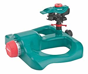 Gilmour 193TPB Timer Polymer Head Impulse Sprinkler on Polymer Sled Base