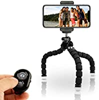 KobraTech Cell Phone Tripod Stand - Flexible Tripod iPhone Android - TriFlex iPhone Tripod
