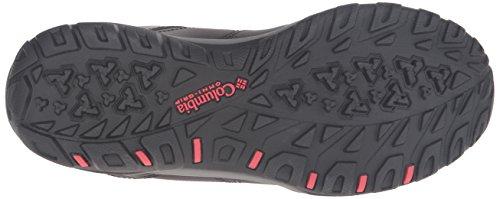 Columbia Fire Venture Mid Waterproof Leather, Scarpe Sportive Outdoor Donna Nero (Black/ Burnt Henna)