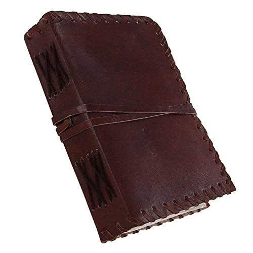 CUADERNO DE CUERO Cuaderno de escritura - Cuero antiguo