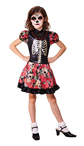Day Of The Dead Girl Costume Ideas (Medium Girls Day Of The Dead Costume)