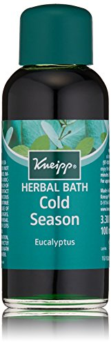 Kneipp Herbal Bath, Cold Season Relief, Eucalyptus, 3.38 fl. oz.
