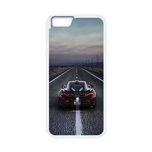 Mclaren P1 Car 2 iPhone 6 4.7 Inch Cell Phone Case White yyfabc_079475