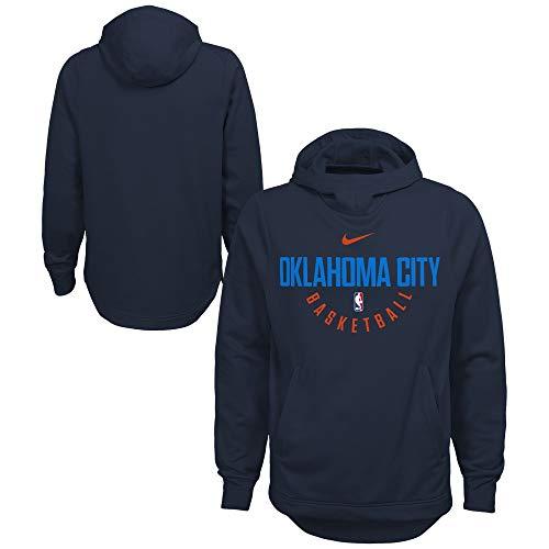 (Nike Oklahoma City Thunder Basketball Boy's Elite Practice Hoody Sweatshirt (8) )