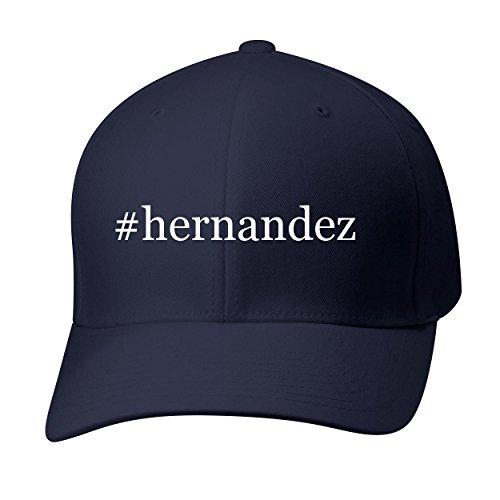BH Cool Designs #Hernandez - Baseball Hat Cap Adult, Dark Navy, Small/Medium