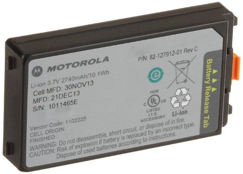 Motorola BTRY-MC3XKAB0E Spare Lithium Ion Battery for Motorola MC3000 and MC3100 Series Mobile Computers, 2,700 mAh