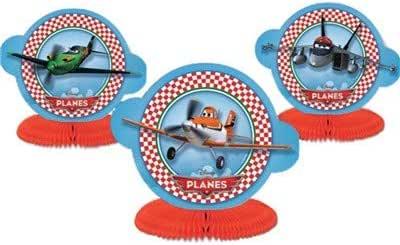 Vasara Mini centros de Mesa Aviones (Pack de 3 uds.) : Amazon.es: Juguetes y juegos
