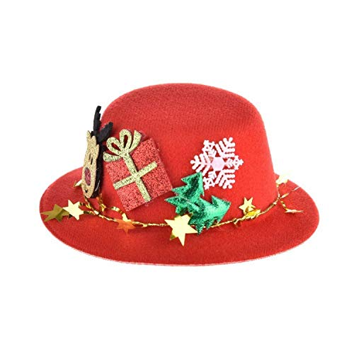 Warm Winter hat for Dog Cap Grooming Accessories Christmas Pet Hat Wool Felt Top Hat Christmas Costume Hats -