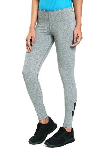 NIKE Womens Leg-A-See Logo Legging Grey