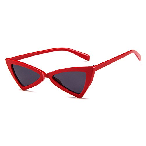 Non Eye Glare MOD Personality Series Hzjundasi Cat proof Glasses Retro Glasses Rouge intensity Triangle Style Sun tqTYtwxC1
