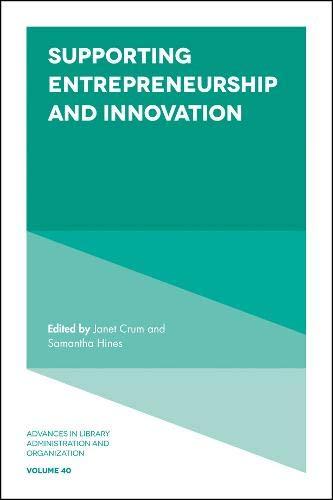 Supporting Entrepreneurship and Innovation