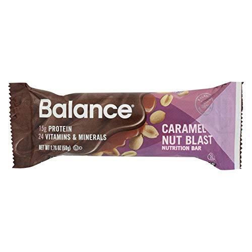 - Balance Bar Gold Caramel Nut Blast Gold Bar, 1.76 Ounce - 6 per case.
