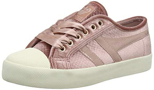- Gola Women's Coaster Velvet Trainers (Pink/Off White KW), 5 UK 38 EU