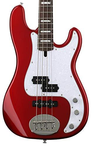 (Lakland Skyline 44-64 Custom PJ Ash - Candy Apple Red w/Laurel Fingerboard)