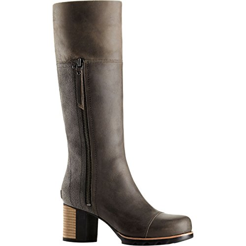 Black Boot Women's Addington Dark Grey SOREL High Tall Knee 178xOwgqw