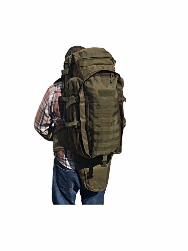 Military Tactical Backpack Rifle Gun Storage Holder Military Survival Trekking Hiking Fishing...