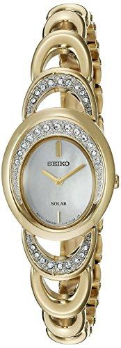 Seiko Women's 'Jewelry' Quartz Stainless Steel Dress Watch (Model: SUP298)