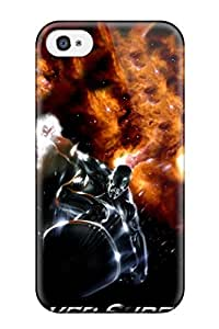 Fashion Protective Silver Surfer Case Cover For Iphone 4/4s