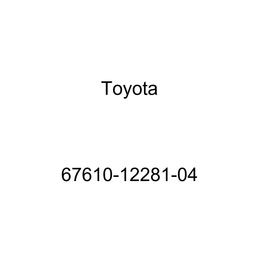 Genuine Toyota 67610-12281-04 Door Trim Board