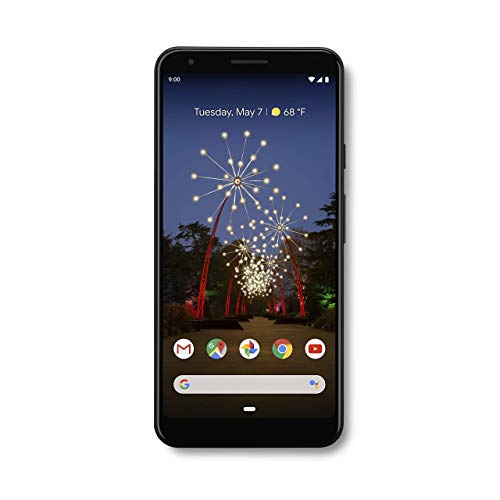 Google - Pixel 3a XL with 64GB Memory Cell Phone (Unlocked) - Just Black (Best Value Android Smartphone 2019)