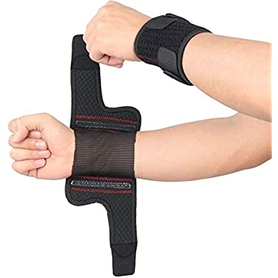 1PCS Hand Wraps Wrist Strap Weight Lifting Wristband Crossfit Powerlifting Bodybuilding Breathable Wrist Support Train Wrist Brace wrist straps Estimated Price £24.40 -