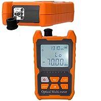 D YEDEMC Optical Power Meter FC/SC/ST universal interface, 8 standdard wavelengths 850/980/1300/1310/1490/1550/1625…