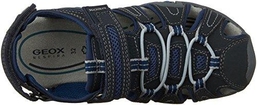 Geox Jr Sandal Kraze G - Zapatos primeros pasos para chico Azul (NAVY/AVIOC0700)