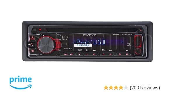 amazon com kenwood kdc 252u in dash usb cd receiver cell phones rh amazon com